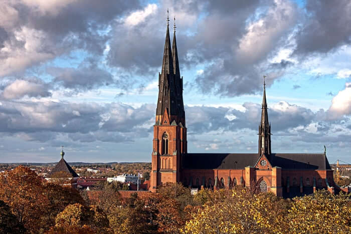 Uppsala in Sweden