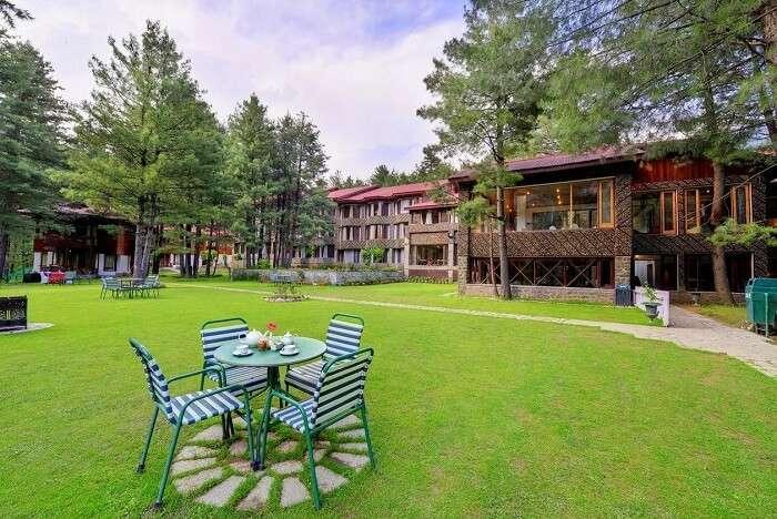 stay at WelcomHotel Pine-n-Peak kashmir