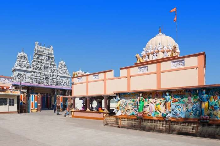 shrine of the goddess annapurna