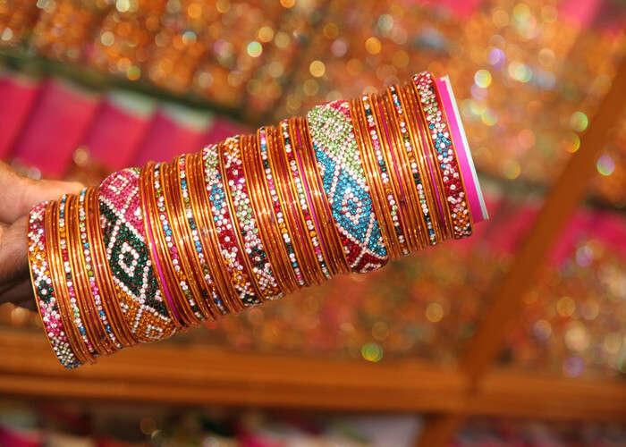 bangles at bangdi bazaar