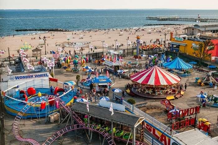 explore the exciting amusement park rides