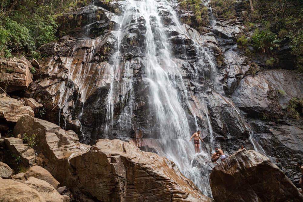 Duchess waterfall in Pachmarhi