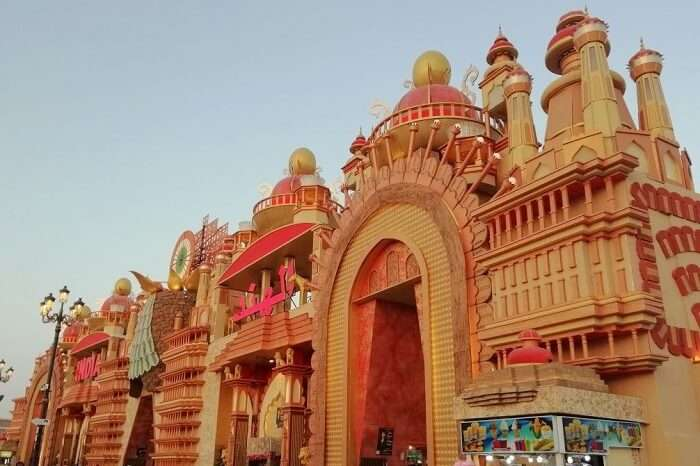 ashish singhal dubai honeymoon trip: global village