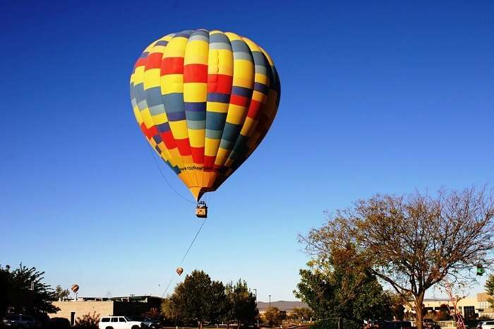 hot air balloon ride in australia