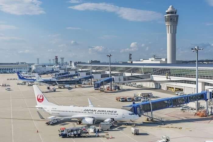 japan airport flight