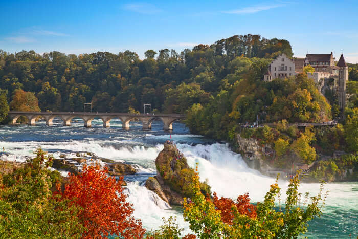njoy the breath-taking views of Rhine Falls