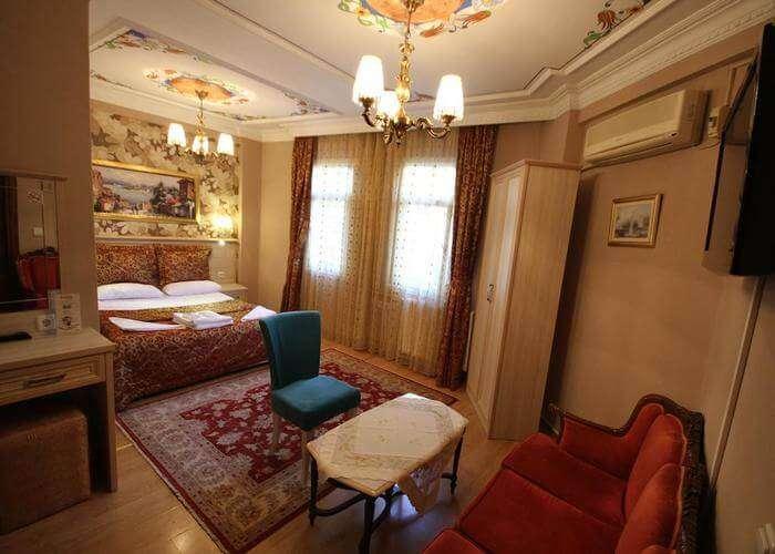 ottoma guestrooms in tashkonash