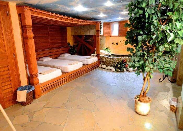 spa room in villa medici