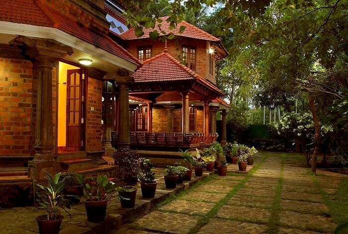 Ayurvedic Village Resort is one of the best