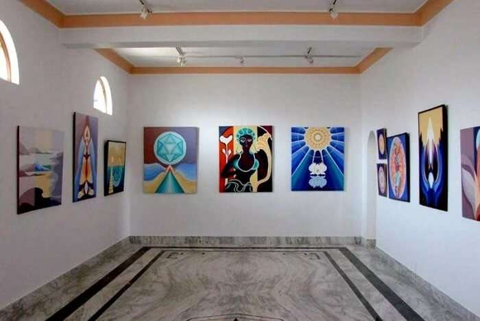 Appreciate art at Naam Art Gallery