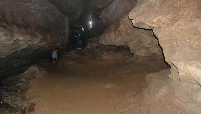 A Cave Interior