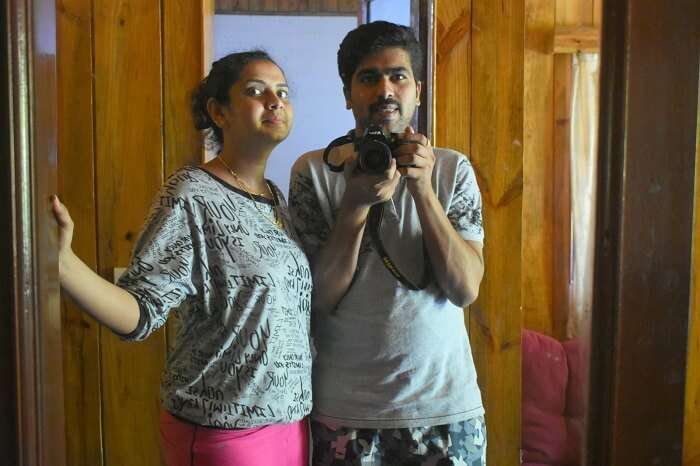 Couple traveling to Andaman