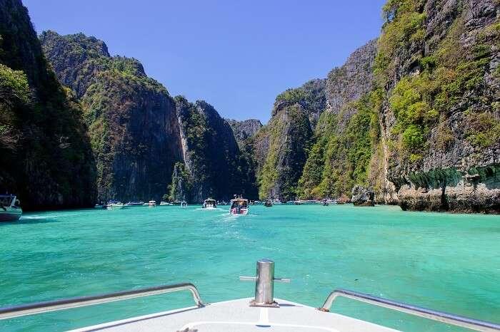 Pileh Lagoon, Phi Phi Island