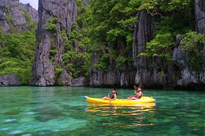 Go kayaking in Philippines