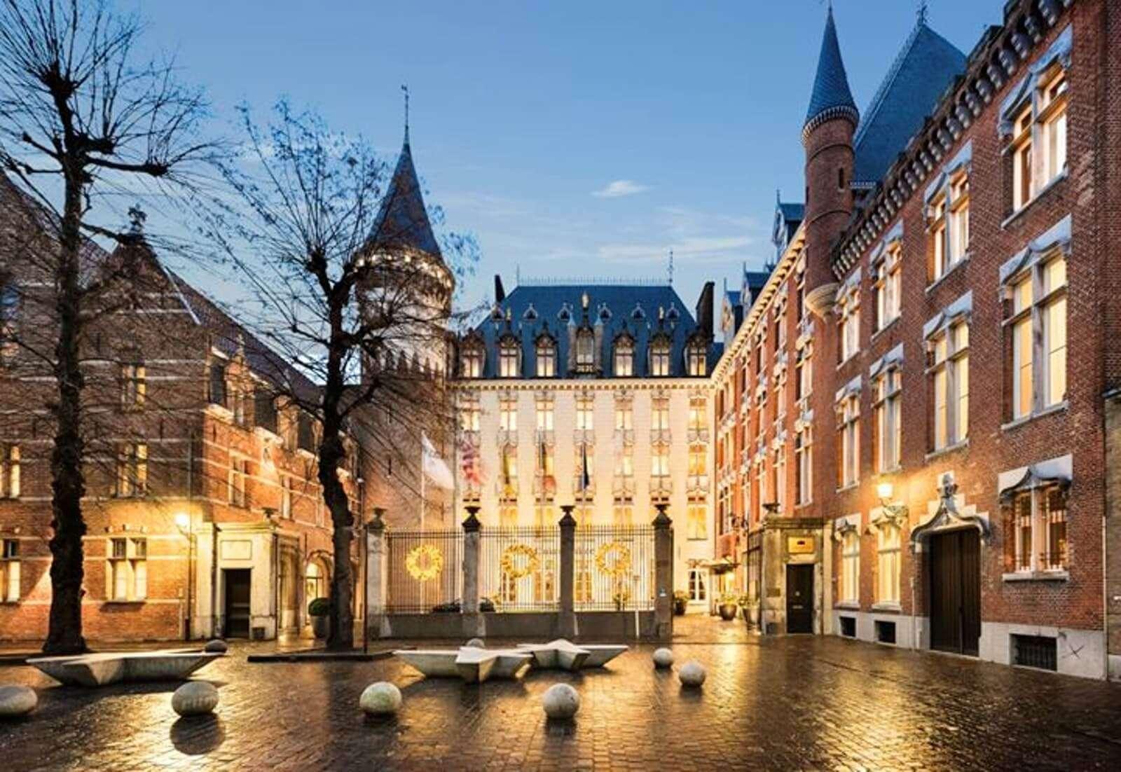 Hotel Dukes' Palace in Belgium