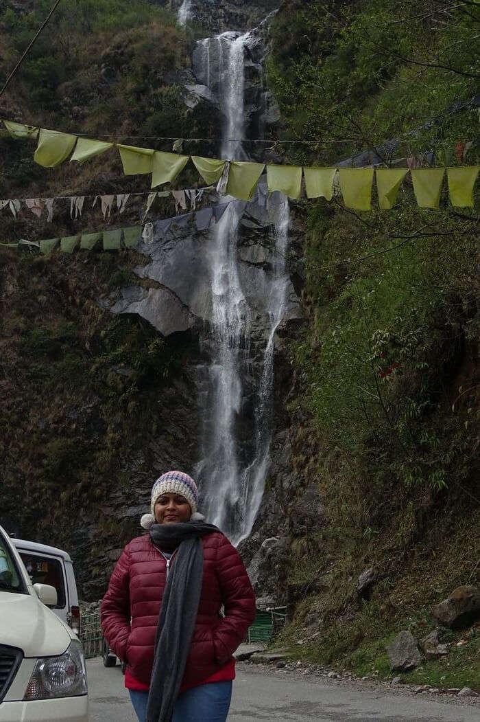 waterfall sikkim
