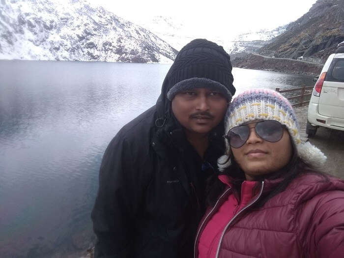 tsongmo lake view