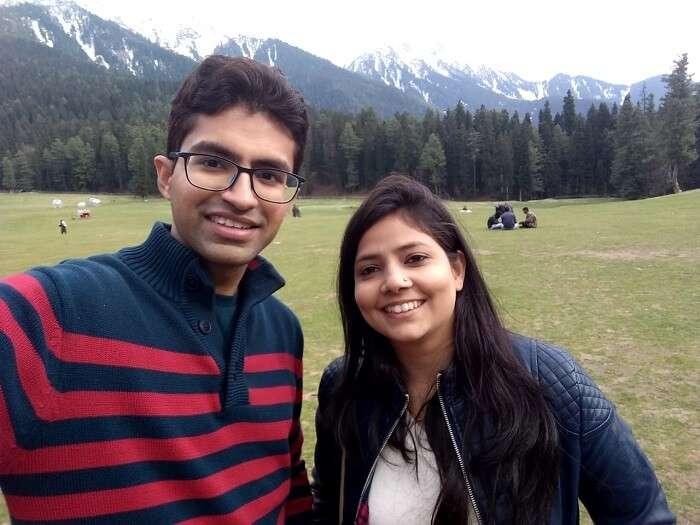 couple in srinagar