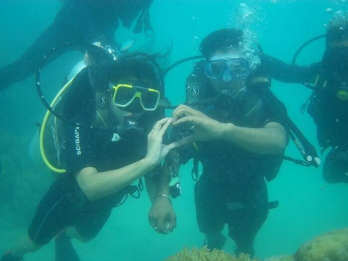 snorkelling in andaman