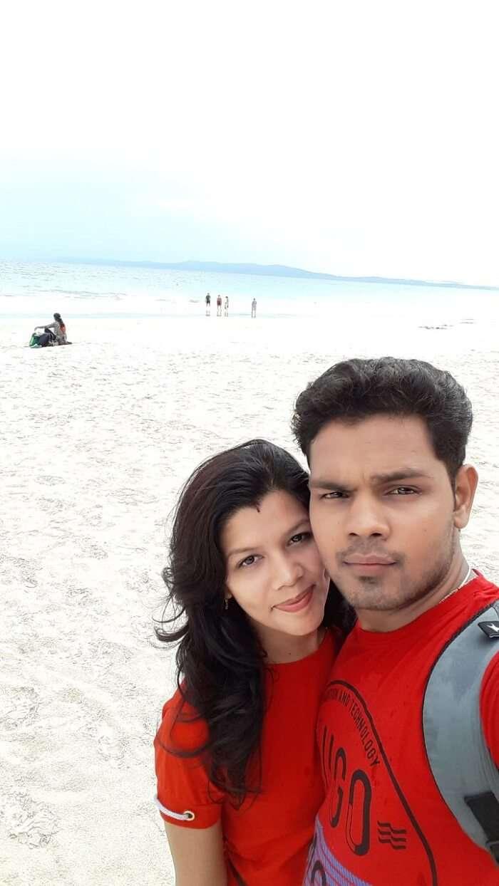 At elephant beach