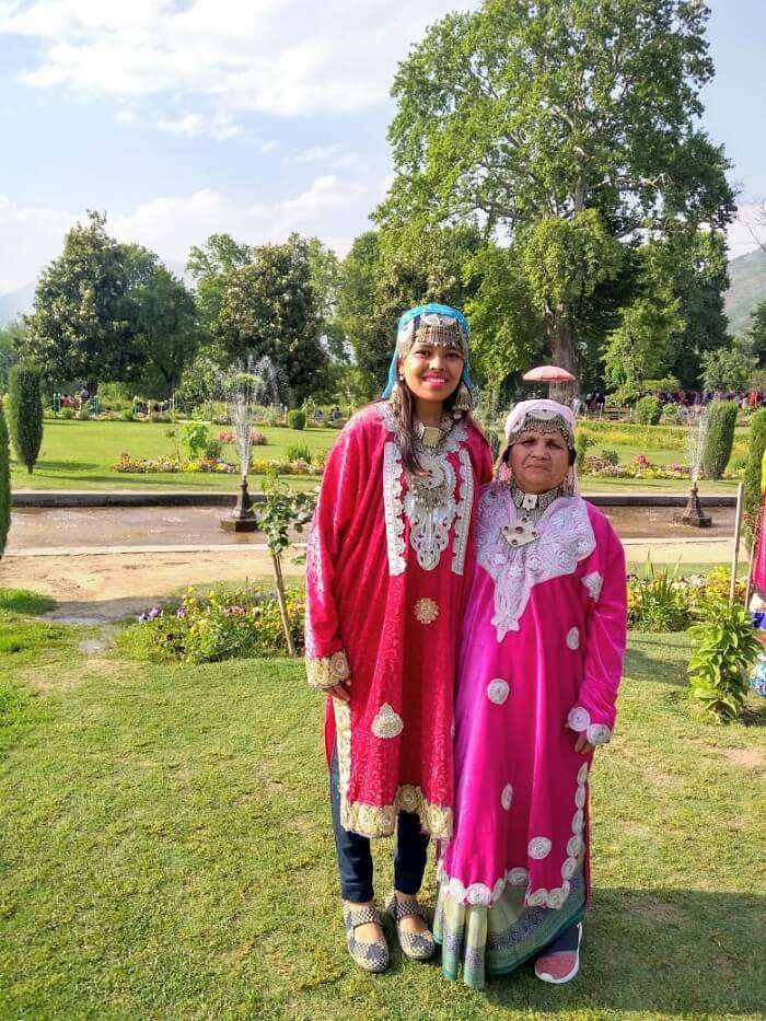 nishant garden kashmir