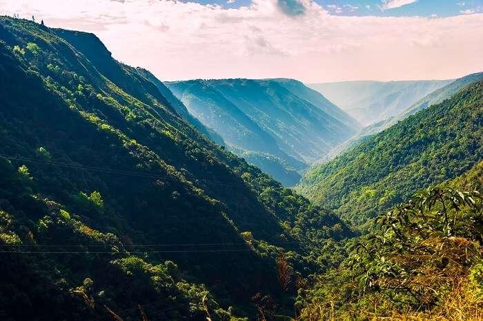 Mawkdok Dympep Valley View cherrapunji meghalaya