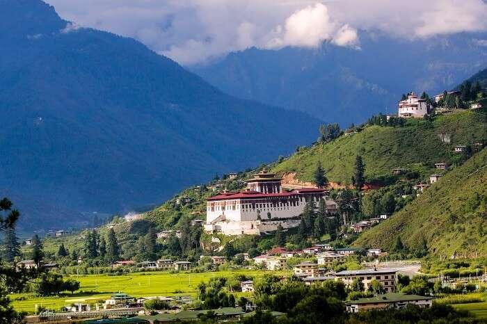 Rinpung Dzong Monastery Paro Bhutan