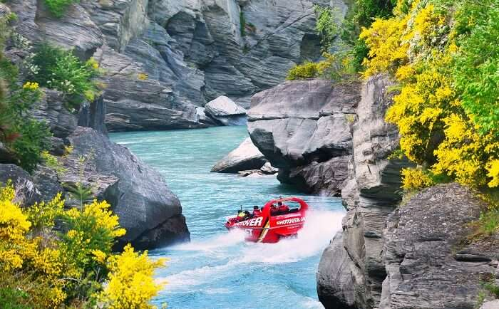 Shotover River jet boat queenstown