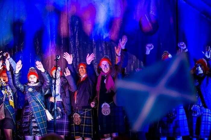 St. Andrew's Day scotland