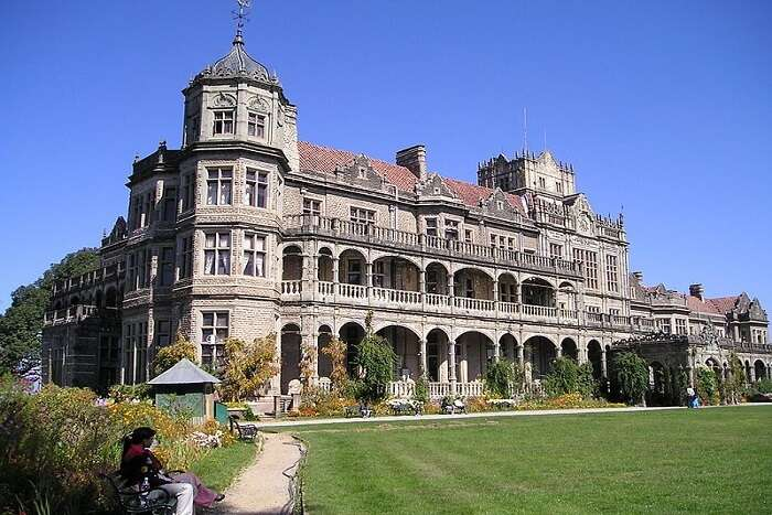 ancient architectural building in Shimla