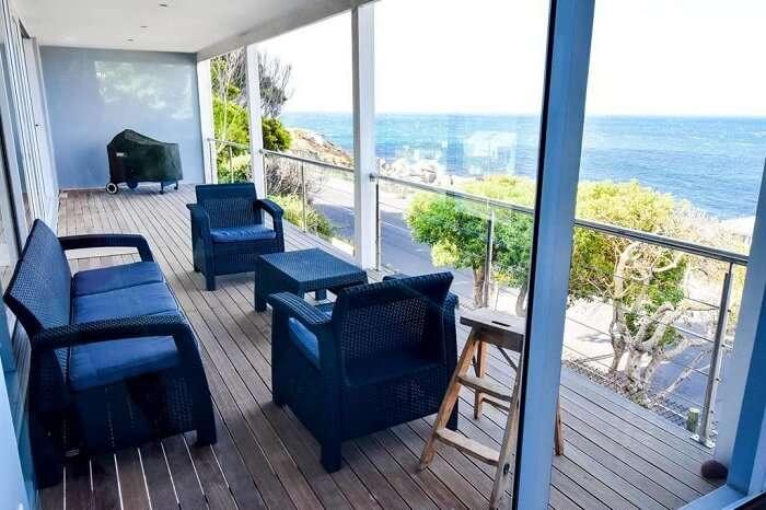 sea view from Bahari house