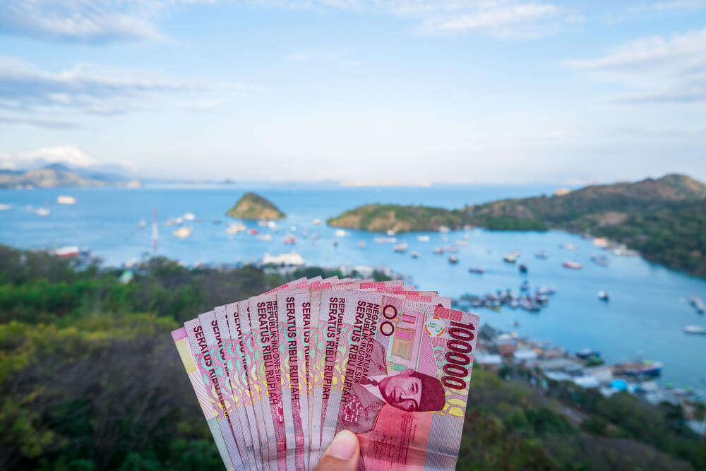 money in the island