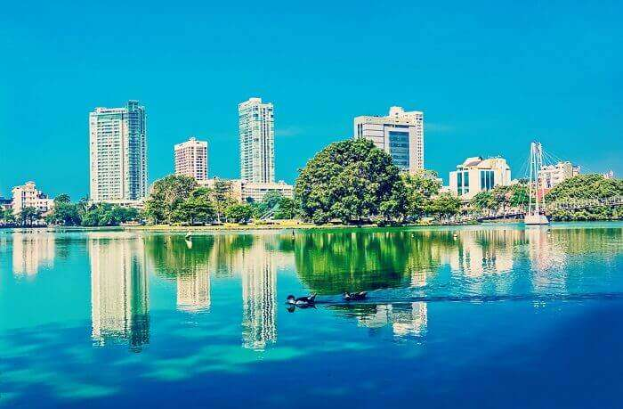 lake in colombo