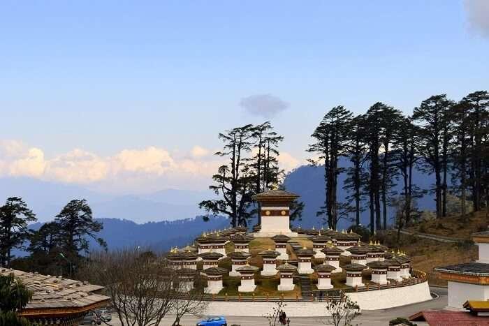 mahesh bhutan trip dochula pass enroute scenic