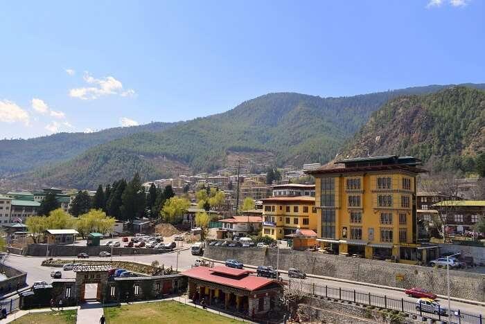 mahesh bhutan trip enroute phuentsholing