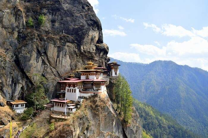mahesh bhutan trip tiger's nest