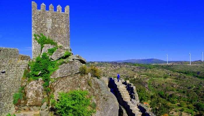 Sortelha village in portugal has a huge castle