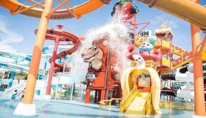 Theme Water Park View