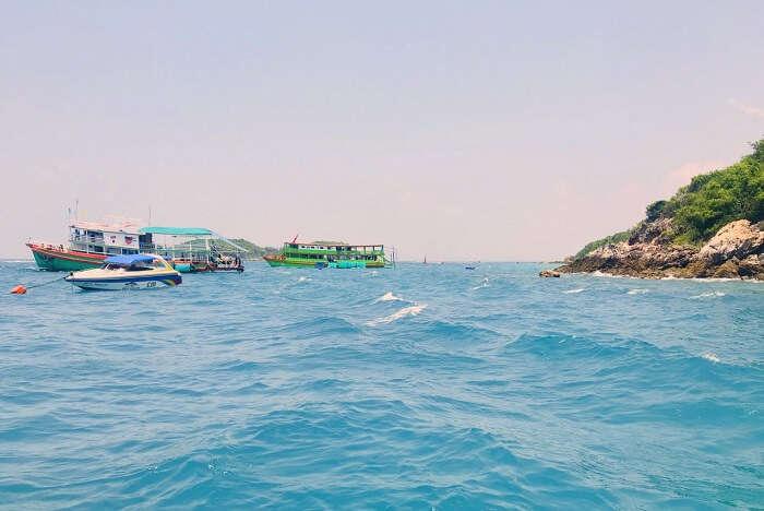 pooja thailand trip watersports