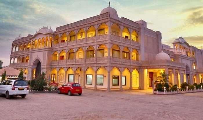 facade of regenta resort