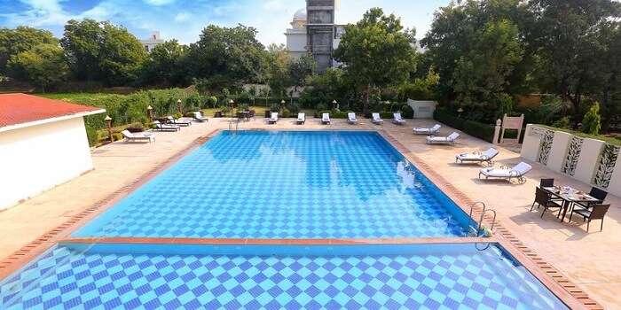 pool of regenta resort