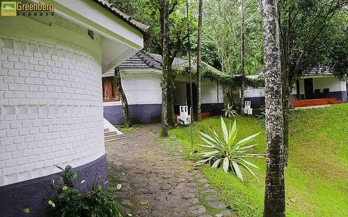 the gorgeous Green Berg Resort