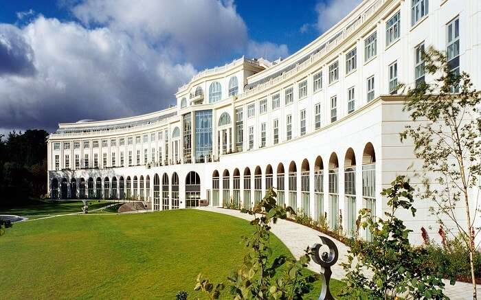 the gorgeous Powerscourt Hotel