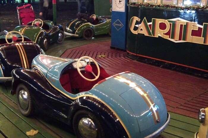 vintage car ride