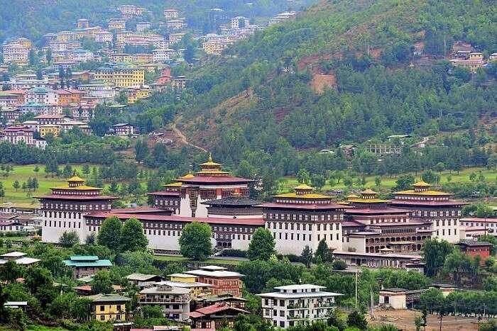 zuri dzong paro