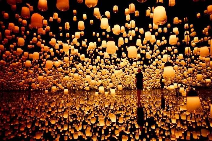 Mori Building Digital Art Museum in japan