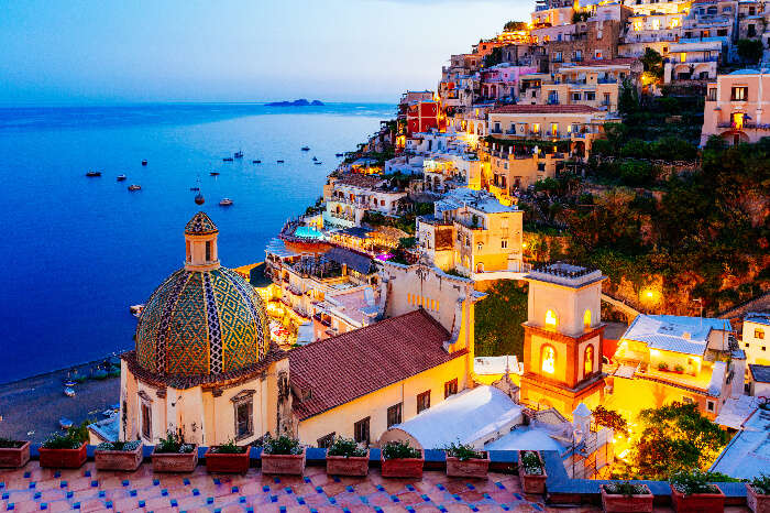 Amalfi Island near Naples, Italy