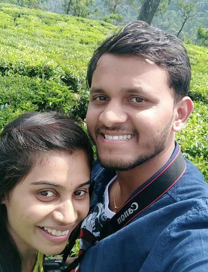 couple in coonoor's tea farm