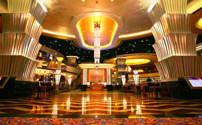 The grand Cafe Deco in Macau