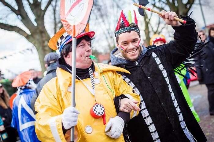 Carnaval, Netherlands